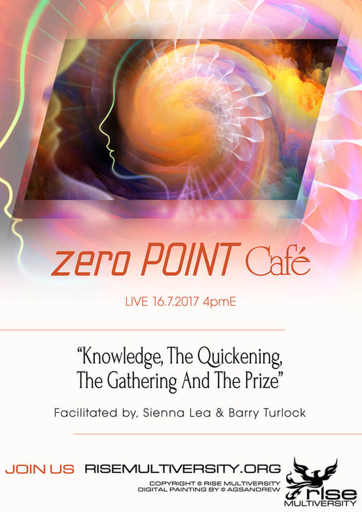 Zero Point Cafe: Knowledge, The Quickening, The Gathering, And The Prize